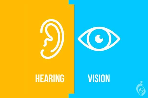 سندروم ناشنوایی و نزدیک بینی