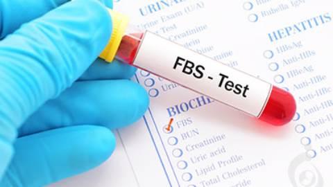 آزمایش قند خون ناشتا (FBS)