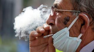 ویروس کرونا و سیگار کشیدن
