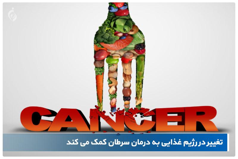 رژیم غذایی سرطان